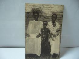 MISSION D'AFRIQUE BURUNDI CHEF CHRÉTIEN ET SA PETITE FAMILLE CPA - Burundi