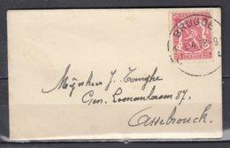 Brief Van Brugge 1L Naar Assebroeck - 1935-1949 Petit Sceau De L'Etat