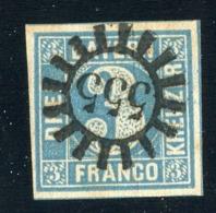 GS 1108 Bavaria 1850 Mi.#2 II (o) (cat.5.€) - Bavaria