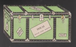 Rare Malle à Systeme DOUAI Complet De Ces 5 Vues  14 X 8 CM - Douai
