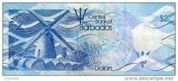BARBADOS P. 73 2 D 2013 UNC - Barbados