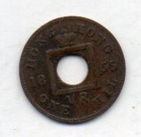 BRITISH HONG KONG, 1 Mil, Bronze, 1865, KM #2 - Colonies