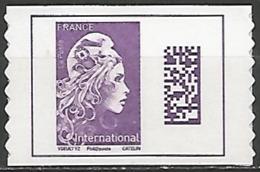 FRANCE  AUTOADHESIF N° 1656 NEUF - Adhésifs (autocollants)