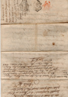 VP15.951 - Cachet De Généralité De MONTAUBAN - Acte An 6 - Vente De La Métairie De Prat - Martel Située à PUYLAURENS - Matasellos Generales
