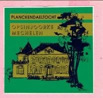 Sticker - PLANCKENDAELTOCHT - OPSINJOORKE - Mechelen - Autocollants