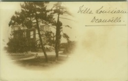 CPA - VILLA LOUISIANE - DEAUVILLE ( CALVADOS ) - EDIT GUILLEMINOT 1900s (BG5155) - Deauville