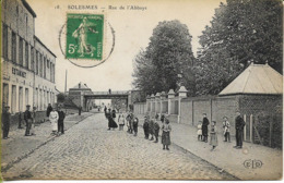 SOLESMES (Nord) Rue De L'Abbaye - Solesmes