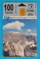 DURMITOR MOUNTAIN - LOVCEN INSURANCE ( Montenegro -  Limited Card, Only 30.000 Ex. ) Bridge Pont Assurance - Montenegro