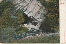 CPA Han-sur-Lesse - Trou De Belvaux - Début 1900 - TP 1c Armoiries Vert - Rochefort