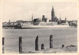 Compagnie Maritime Belge - Ligne Du Congo - Anvers, Le Jour Du Départ - Steamers