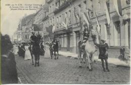 AIRE SUR LA LYS Cortège Historique De JEANNE D'ARC 20/5/1909 Jeanne D'Arc Et Son Escorte - France