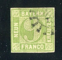GS 1148 Bavaria 1850 Mi.#5c III (o) (cat.20.€) - Bayern
