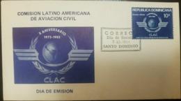 O) 1983 DOMINICAN REPUBLIC, LATIN AMERICAN CIVIL AVIATION COMMISION, FDC XF - Dominican Republic