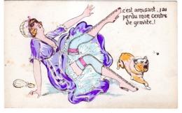 C'est Amusant J'ai Perdu ....FEMME EN JUPON - Mujeres