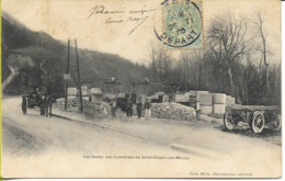 SAINT VAAST LES MELLO Les Grues Des Carrières - France