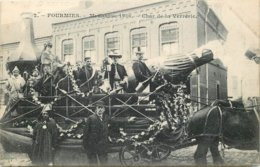59 - Nord - FOURMIES - 591003 - Char De La Verrerie -  Mi-carême 1906 - Fourmies
