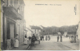APREMONT  (Oise) Place Du Touche - Francia