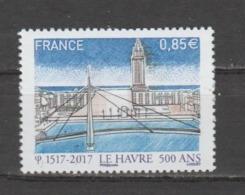FRANCE / 2017 / Y&T N° 5166 ** : Le Hâvre (500 Ans De Sa Fondation) X 1 - France