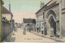 BURY (Oise) Porte De L'Abbaye - France