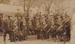 AK Foto Einheit Deutsche Soldaten - Luft-Licht-Schwitz Und Sonnenbad - Lockstedter Lager - 1911 (44715) - Guerra 1914-18