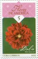Lote CU2015-6, Cuba, 2015, Sello, Stamp, 8 V, Flores De America, Flower, Orchid - FDC