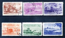 1953 LIBERIA SET USATO PA 67/72 - Liberia