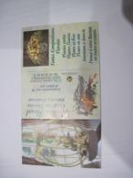 CALENDRIER PUBLICITAIRE ATELIER FLORAL  2004  TBE - Calendarios