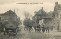 59 - Nord - L'ECLUSE - 591300 - Rue Fernand Villette - France