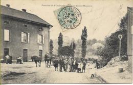 JOEUF  Frontière De Franchepré  Grosse Moyeuvre - France