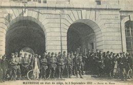 59 - Nord - MAUBEUGE - 591400 - Porte De Mons - état De Siège - Maubeuge