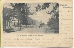 SEREMANGE  SCHREMINGEN  Vue De Maison D'école Et Cité Ouvrière - France