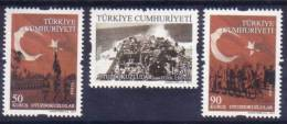 2011 TURKEY PERMANENT STAMPS THEMED AS OTUZDOKUZLULAR MNH ** - 1921-... Repubblica
