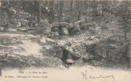 CPA Spa - Le Pont Du Soir - Héliotypie - 1906 -  TP 1c Armoiries Vert - Spa