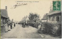 RUBROUCK  Sortie Du Village Vers Bollezeele - France