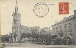 WIGNEHIES  La Place (Diligence Attelée) - Francia