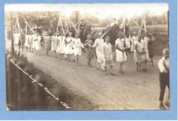 9493 Germany (?) 1928 Procession Of People On Holiday (?) Original Photo Pc - Da Identificare