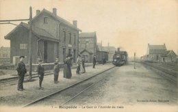 59 - Nord - REXPOEDE - 591601 - Gare - Train - Autres Communes