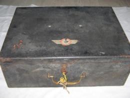 Ancien Coffre-fort,valise,officier Armée De L'air France WW1 1914-1918 - Aviation