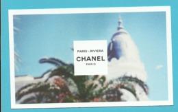 CHANEL PARIS-RIVIERA (lot Grijs Los) - Duftkarten