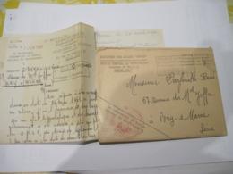 ENVELOPPE COURRIER MILITAIRE  1961   TBE - Marcophilie (Lettres)