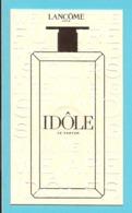 Cartes Parfumées Carte IDOLE De LANCOME (lot 45 Grijs Los) - Duftkarten