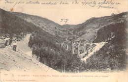 07 ARDECHE Viaduc De Bon Pas Près De St AGREVE Après La Catastrophe Du 8 Septembre 1902 - Saint Agrève