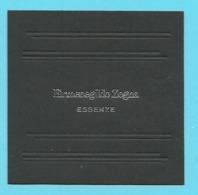 Cartes Parfumées Carte ERMENEGILDO ZEGNA / ESSENZE (lot 48 Grijs Los) - Duftkarten
