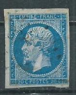 Timbre Type I Napoleon III 1853 Yvt 14A - 1853-1860 Napoléon III