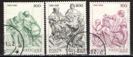VATICANO - 1982 - 4° CENTENARIO DELLA RIFORMA DEL CALENDARIO GREGORIANO - USATI - Vaticano (Ciudad Del)