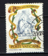 VATICANO - 1981 - BEATO JAN VAN RUUSBROEC - TRATTATI DI VITA MISTICA - USATO - Usados