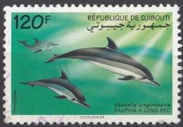 GIBUTI - 1994 - Yvert 718A, Usato. - Gibuti (1977-...)