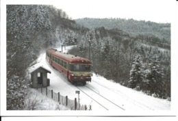 """88 - Corcieux-Vanémont - """"Caravelle"""" Sur La Ligne Epinal-Saint-Dié - Corcieux"""