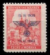 BÖHMEN MÄHREN 1942 Nr 83 Postfrisch X887DE2 - Bohême & Moravie