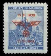 BÖHMEN MÄHREN 1942 Nr 84 Postfrisch X889DA6 - Bohême & Moravie